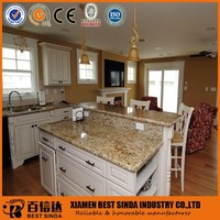 Natural Granite Brazil Gold Kitchen Countertop