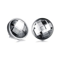 stainless steel earring 2015 fashion Austrian crystal