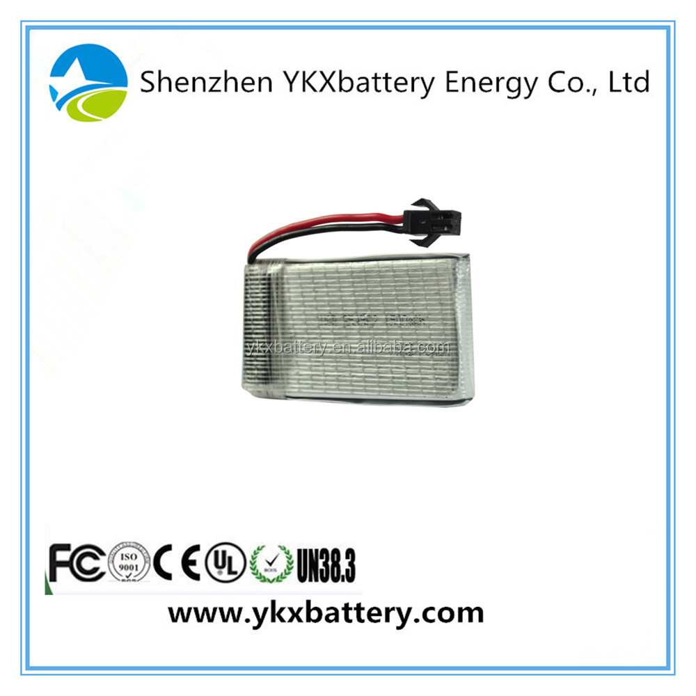 China Cheap 853562 1600mah 1500mah 20C 3.7v rechargeable li-ion li ion lithium polymer li-polymer rc lipo battery