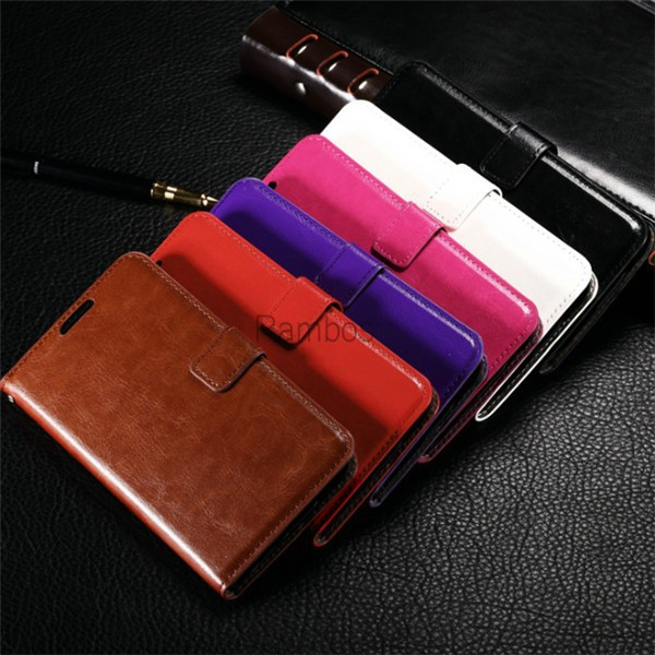 Vintage PU Leather Flip Case Wallet Cover Photo Frame for Samsung Galaxy Core Prime G360 /J5/J7/E5/E7/A3/A5/A7/S6