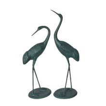 Aluminum crane statue for garden decoraion
