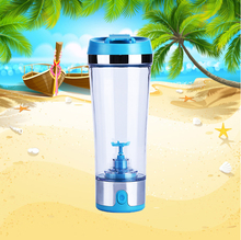 USB Rechargeable Electric Portable Shaker Bottle with Vortex hand Mixer