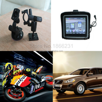 Prolech Waterproof motorcycle gps navigation/ 4.3 inch touch screen gps moto