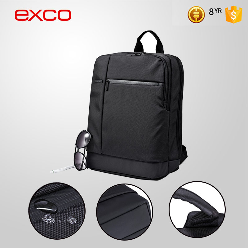EXCO large capacity water repellent business bag laptop backpack for 15'' laptops