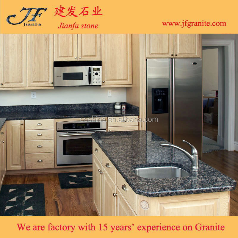 Ready Made Countertops : Ready made sapphire blue and brown granite countertops
