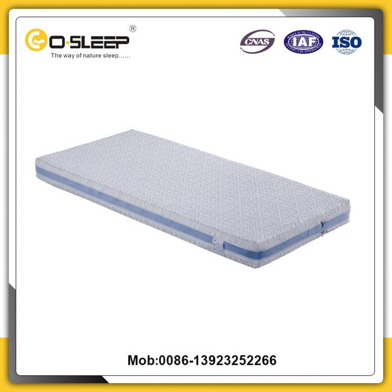 High standard european size twin size best latex mattress with different size