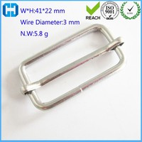 Custom Metal Adjuster Buckle Ladder Sliding Bar Lock Clip From China