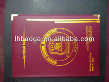 leather Diploma,Certification folder