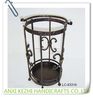 LC-83316 Metal Decorative Hotel Indoor Umbrella Holder Stand