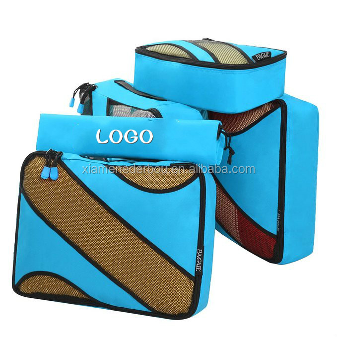 packing cubes 3 piece,Travel Luggage Packing Organizers with Laundry Bag