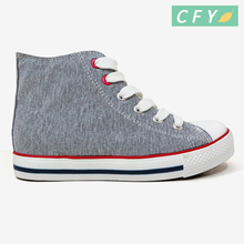 2018 New style high top hot sale kids boys casual canvas shoes new arriving