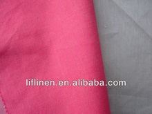 linen cotton twill fabric/yarn dyed fabric