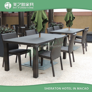 Zhongshan Hot Sale Restaurant Furniture / Outdoor Restaurant Tables And Chairs For Sale