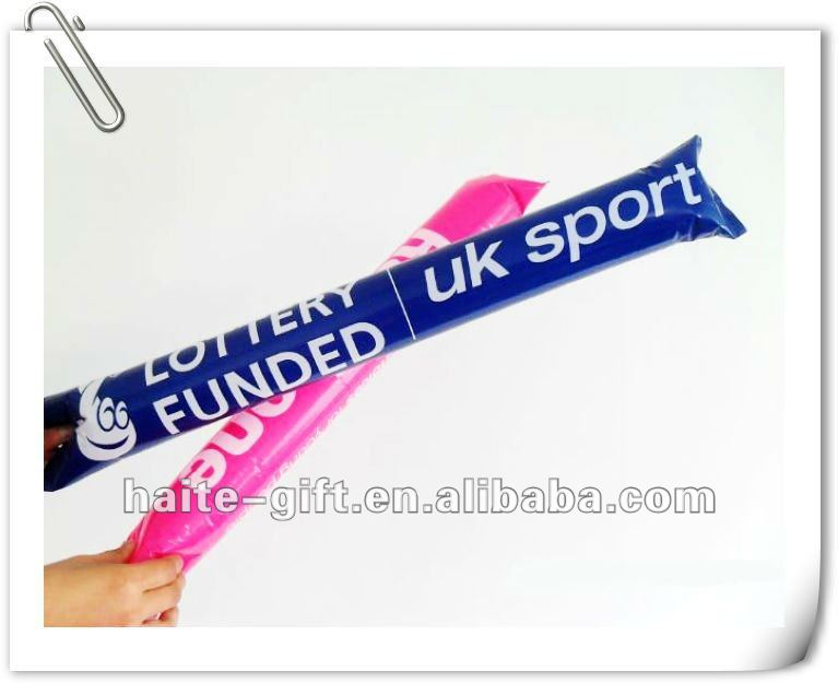 promotional cheering stick and balloon for festival