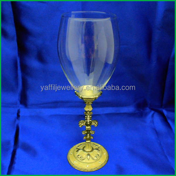 party accessory red wine pewter goblets for sale