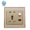 13A and 16A Multi-Function Electric socket with Neon