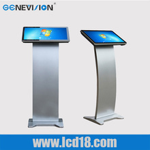 22'' inch video player touch screen kiosk digital signage internet advertising player all in one PC for checking information