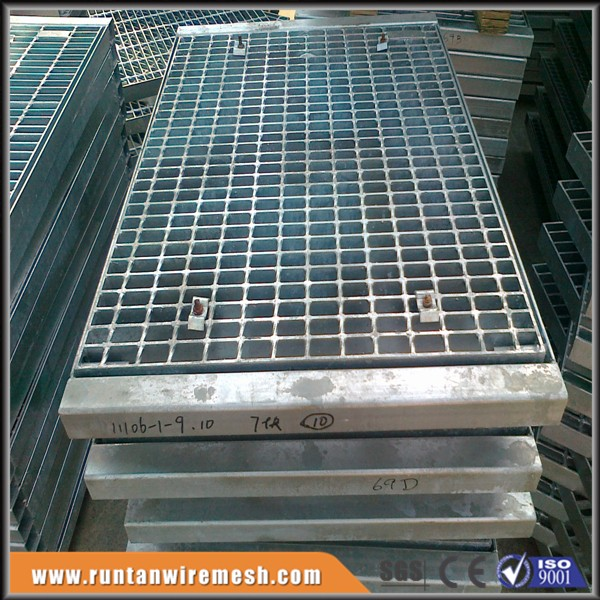 steel grating canal cover