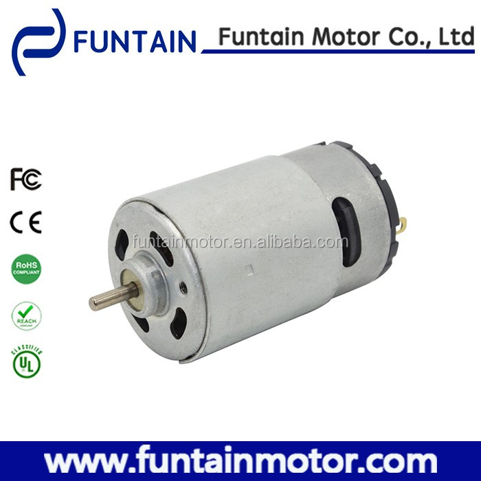36mm diameter 96v dc motor , Funtain Motor RS-5512