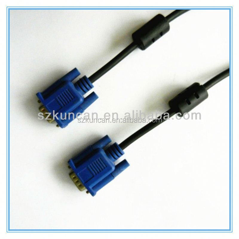 shenzhen 15 supplier pin vga to rca s-video cable 1.8m