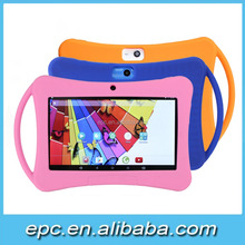 2017 Silicone Rubber Gel Soft Skin Case Cover for 7 inch Touch A33 Dual Core Q88 Tablet - 3 colour