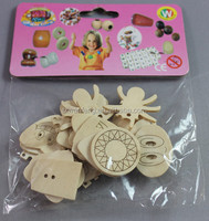 wooden buttons large for crystal belly rings