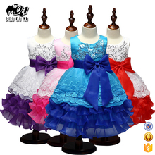 China Wholesale Factory Direct Price Cake Frock Layered Kids Summer Dress Children Baby Girl Summer Dress L7789