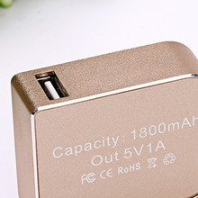 Power Bank 2600mah Portable Lipstick Powerbank Manual For 2600mah Power Banks Charger For Battery Case 20800 ma