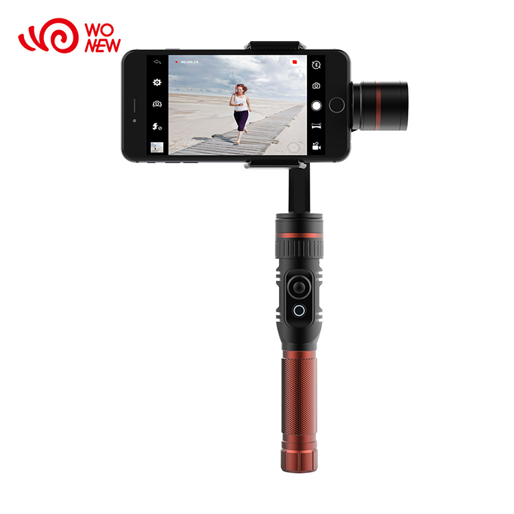 Shenzhen Factory Handheld Cheap Smartphone Stabilizer Gimbal 3 Axis For Cell Phone