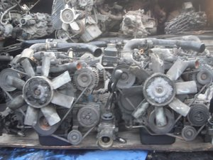Used D4BA Engine for Hyundai Car