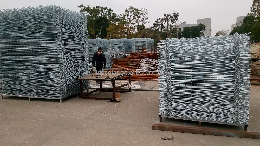 Galvanized cheap sheet metal fence panels,playground fence