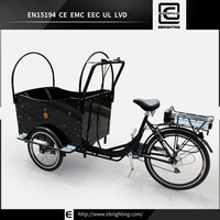 electric passenger bike cheap adults moped BRI-C01 three wheel assisted pedal tricycle with