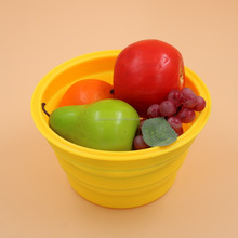 new design BPA free hot selling silicone fruit bowl