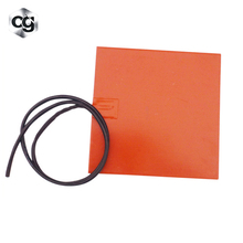 12v 24V Adhesive Backed Silicone Rubber Heater Mat
