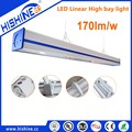 170 lm/w 150w aluminum high bay for supermarket warehouse LED linear high bay light