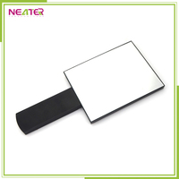 wholesale plastic single side square foldable hand held mirror