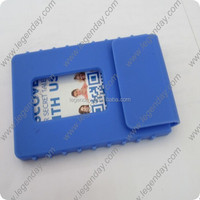 Wholesale Hot Selling Silicone name Card Holder,Silicone business Card Case