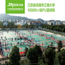 Rubber surface paint for outdoor sports court / tennis court / basketball court