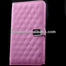 FL2463 2013 Guangzhou hot selling luxury soft wallet leather case for sony L36h Xperia z