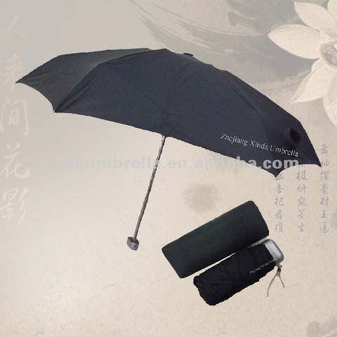Super Short Foldable Umbrella