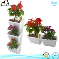 Home Garden Decoration PP Plastic Garden Pots Small Garden Pots
