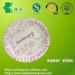 Various Fancy & fashionable paper plates for decoration