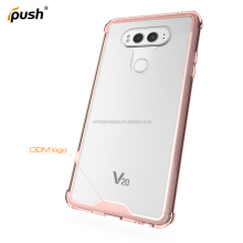 Unbreak transparent armour air hybrid acrylic + TPU mobile phone case for LG V20