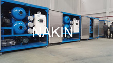 Degassing And Dewatering Transformer Oil Purification Machine/Oil Filtration Unit