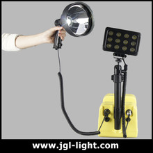 Super brightness Portable marine led search light LED flood light with emergency lamp system