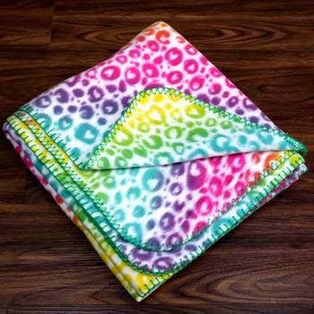 Printed Two Sides Brushed king size fleece blanket