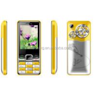 Cheapest WCDMA 1900 3G phone 3 sim cards TV handphone