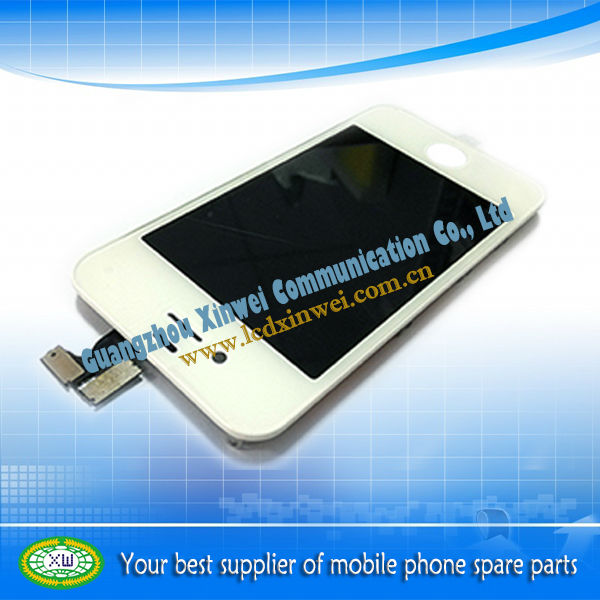 complete lcd screen and touch panel for mobile phone for iphone 4s