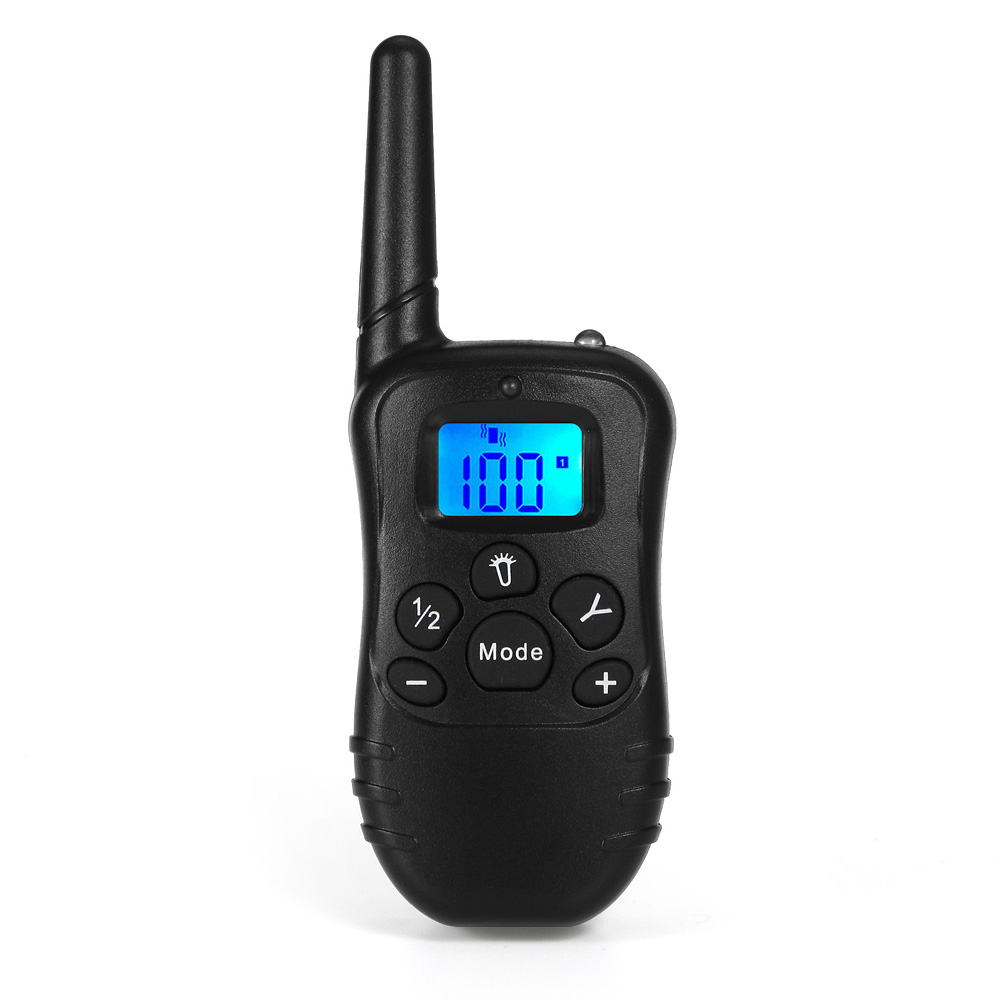 iT81N Remote dog trainer with big LCD displays all instructions