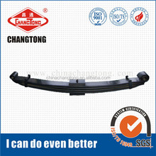 Auto damping spring steel plate